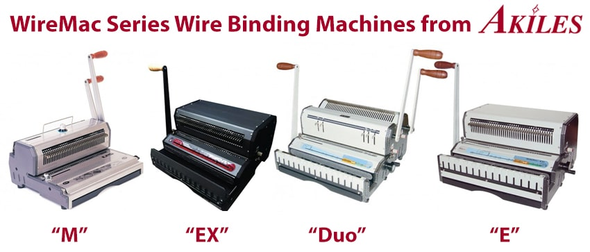 WireMac Wire Binding Machines from Akiles