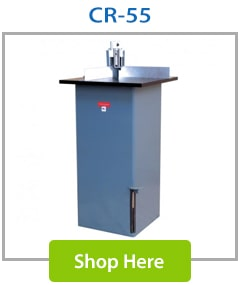 CR-55 Manual Floor Standing Corner Round Machine