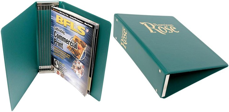 Custom Magazine Binders | Personalized Magazine Storage