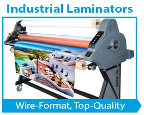 Industrial Wide Format Laminating Machines