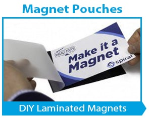 Magnetic Laminating Pouches to Make Magnets