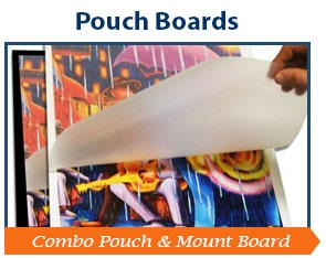 Pouch Mounting Boards